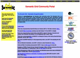 semanticgrid.org