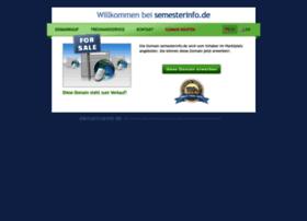 semesterinfo.de