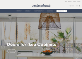 semihandmadedoors.com