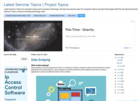 seminarprojecttopics.blogspot.com