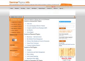 seminartopics.info