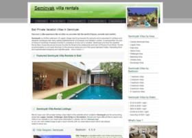 seminyakvillarentals.com