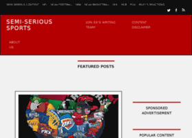 semiserioussports.com