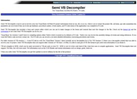 semivbdecompiler.com