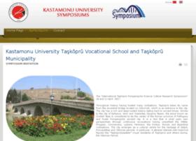 sempozyum.kastamonu.edu.tr