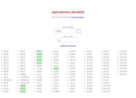 semver.npmjs.com