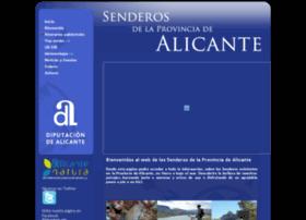 senderosdealicante.com