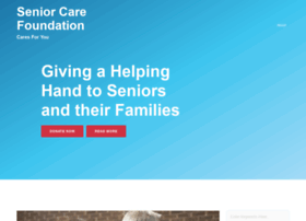 seniorcarefoundation.org