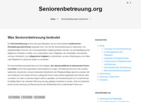 seniorenbetreuung.org