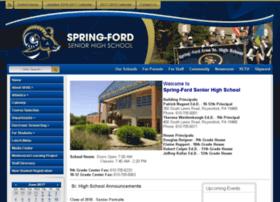 seniorhigh.spring-ford.net