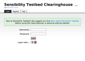 sensibilityclearinghouse.poly.edu