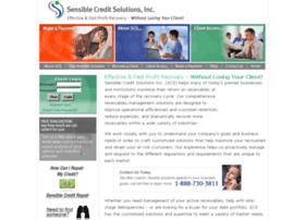 sensiblecreditsolutions.com