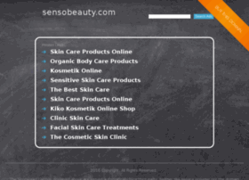 sensobeauty.com