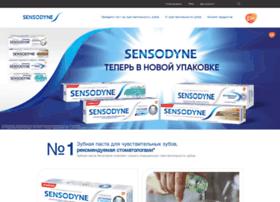 sensodyne-russia.com