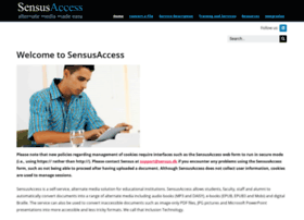 sensusaccess.com