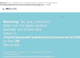 seoaraclari.seoanaliz.com.tr