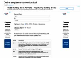sequenceconversion.bugaco.com