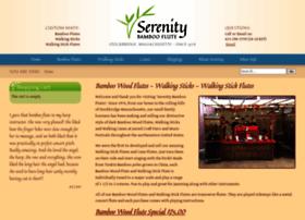 serenitybambooflutes.com