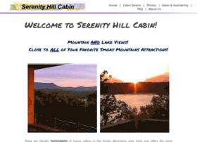 serenityhillcabin.com