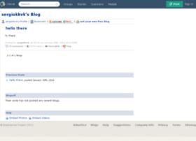sergiokkvk.blogs.experienceproject.com
