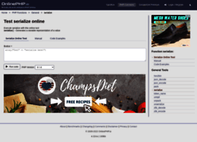 serialize.onlinephpfunctions.com
