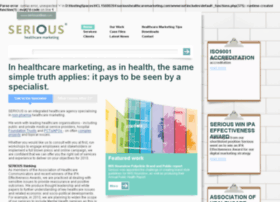 serioushealthcaremarketing.co.uk
