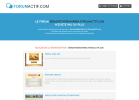 sermentdesrohirrim.forumactif.com
