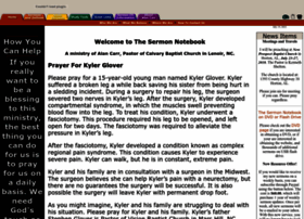 sermonnotebook.org