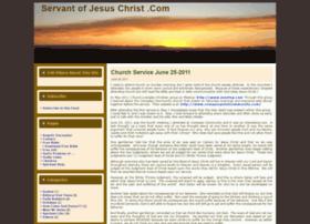 servantofjesuschrist.com