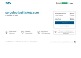servefootballtickets.com