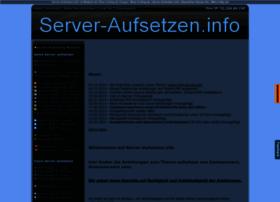 server-aufsetzen.info
