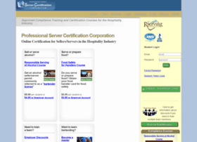 servercertificationcorp.com