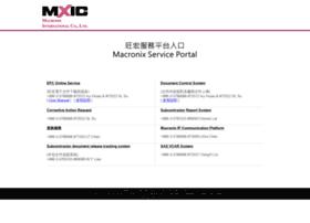 service.mxic.com.tw