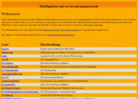 service.piratenpartei.de
