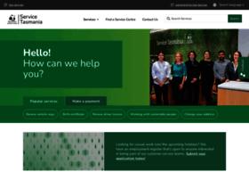 service.tas.gov.au