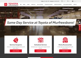service.toyotaofmurfreesboro.com