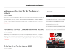 servicecentreinfo.com