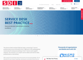 servicedeskinstitute.com