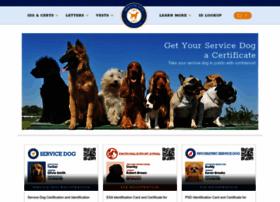 servicedogcertifications.org