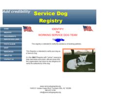 servicedogregistry.org