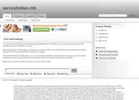 servicehidden.info