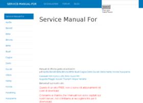 servicemanualfor.com