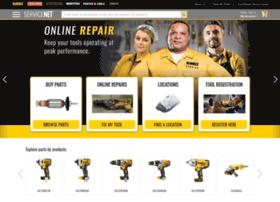 servicenet.dewalt.com