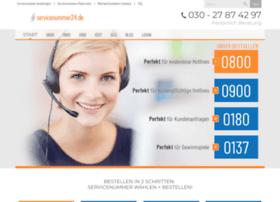 servicenummer24.de