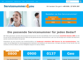 servicenummer4you.de