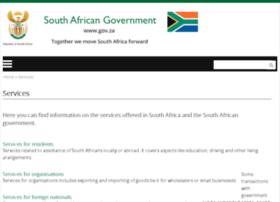 services.gov.za