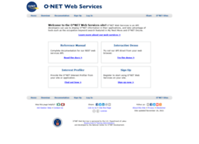 services.onetcenter.org
