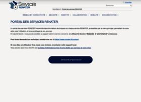 services.renater.fr