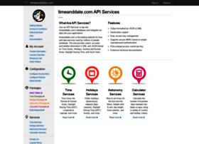 services.timeanddate.com