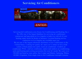 servicingairconditioners.com